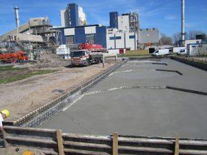 Drogend beton