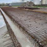 Gewapend beton raamwerk